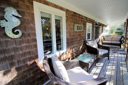 Eastham Cape Cod vacation rental - Sip your coffee on the charming front porch
