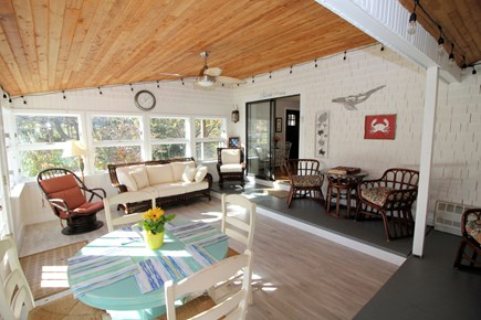 Eastham Cape Cod vacation rental - Lovely sun porch with plenty of seating