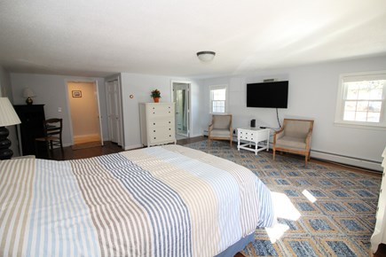 Eastham Cape Cod vacation rental - First floor master with queen bed and en suite bathroom