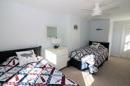 Eastham Cape Cod vacation rental - Second floor bedroom with two twins