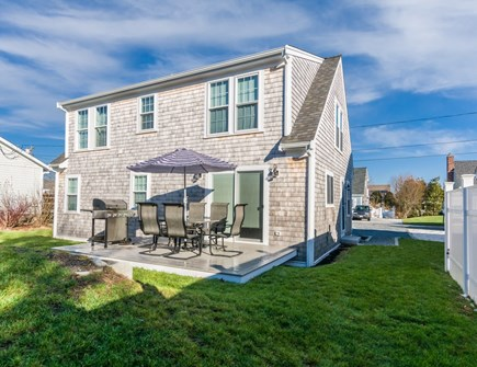 Sandwich Cape Cod vacation rental - Back of house with outdoor space