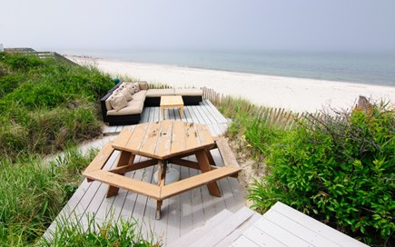 East Sandwich Cape Cod vacation rental - Outdoor space overlooking the beach