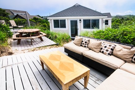 East Sandwich Cape Cod vacation rental - Comfy seating outside
