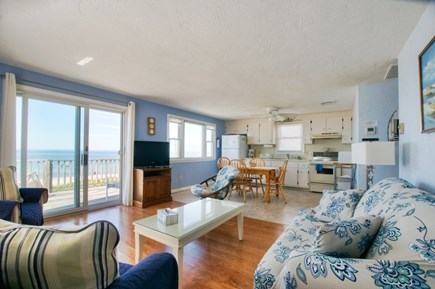 East Sandwich Cape Cod vacation rental - 2nd Floor Living/Dining/Kitchen with waterviews