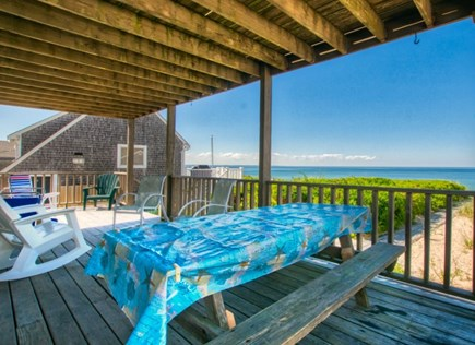 East Sandwich Cape Cod vacation rental - 1st Floor covered deck with ocean views