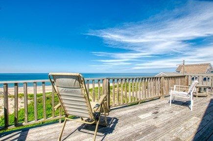 East Sandwich Cape Cod vacation rental - 2nd Floor open deck with stunning views