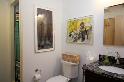 Wellfleet Cape Cod vacation rental - Nicely appointed bathroom with shower