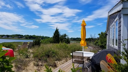 Wellfleet Cape Cod vacation rental - The Boathouse sits right on Wellfleet Harbor