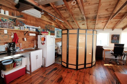 Wellfleet Cape Cod vacation rental - Privacy screen available for bedroom area