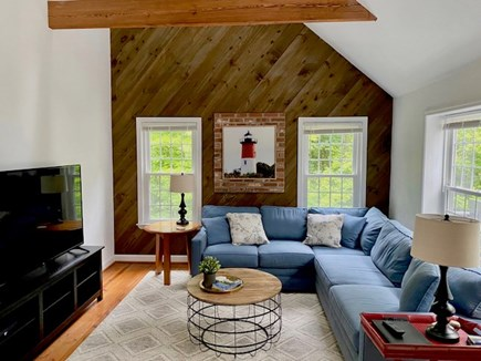 Orleans Cape Cod vacation rental - Lovely Den with queen sleep sofa bed