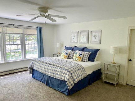 Orleans Cape Cod vacation rental - Expansive First Floor Master Bedroom with ensuite bath & laundry