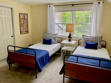 Orleans Cape Cod vacation rental - Second floor bedroom with two twins