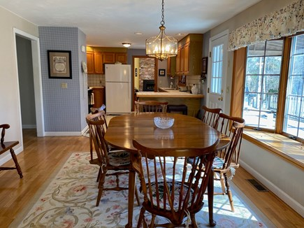 Dennis Cape Cod vacation rental - Dining Room View East