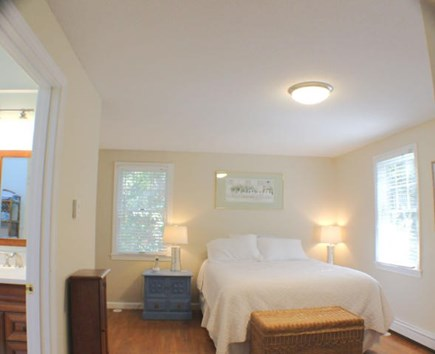 Brewster Cape Cod vacation rental - First Floor Bedroom with Queen and Full Bathroom