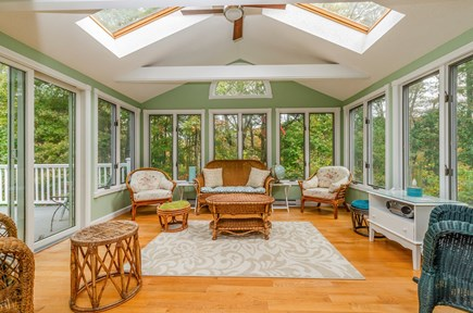 Brewster Cape Cod vacation rental - Sunroom / Porch with Deck Access