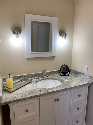 Chatham Cape Cod vacation rental - Upstairs bathroom.