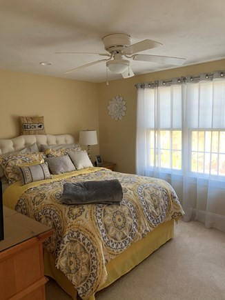 Falmouth Cape Cod vacation rental - 3rd bedroom with cozy comfy queen bed.