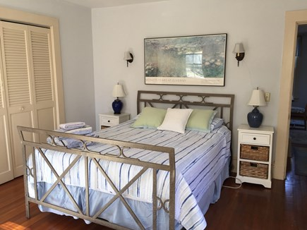 West Falmouth Cape Cod vacation rental - Downstairs queen bedroom
