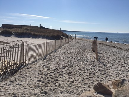 West Falmouth Cape Cod vacation rental - Walk just 1/2 mile to Chapoquoit Beach