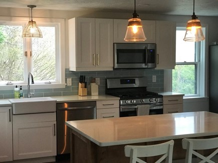 Brewster  Cape Cod vacation rental - Brand new kitchen.