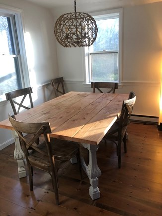 Brewster  Cape Cod vacation rental - Dining area off kitchen. Additional chairs available.