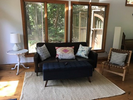 Brewster  Cape Cod vacation rental - Cottage sitting area (with Smart TV)