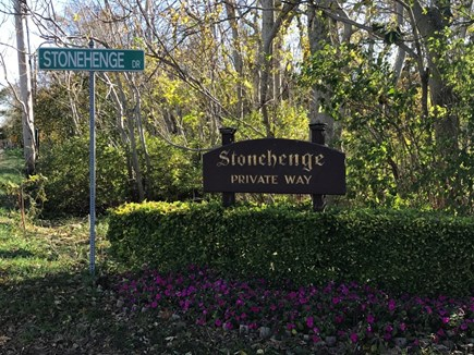 Brewster  Cape Cod vacation rental - Stonehenge is a peaceful, quiet, private rd.