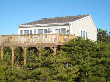 Eastham, Private Beach Access - 1129 Cape Cod vacation rental - Great deck with water views