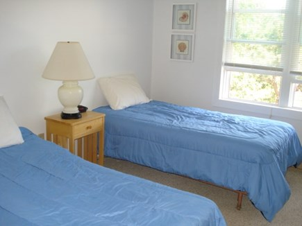 Eastham, Private Beach Access - 1129 Cape Cod vacation rental - Bedroom with twins