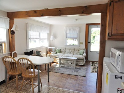 Wellfleet Cape Cod vacation rental - Dining and Living areas from kitchen