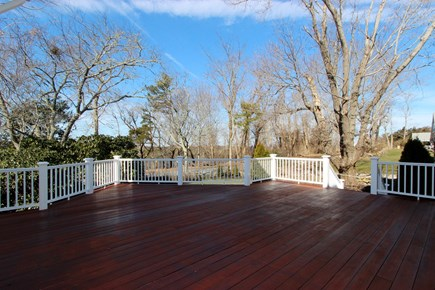 Dennis Cape Cod vacation rental - Spacious Deck