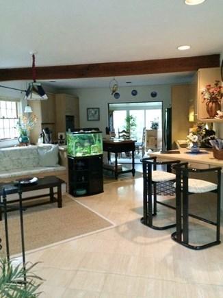 Truro Cape Cod vacation rental - Kitchen/entertaining area