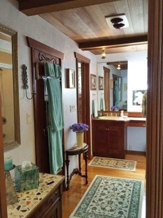 Truro Cape Cod vacation rental - Master Bathroom