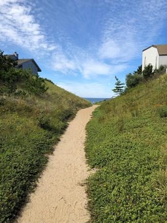 Truro Cape Cod vacation rental - Private Beach Entrance