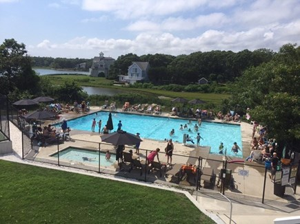 East Falmouth Cape Cod vacation rental - Neighborhood Association Pool is a TON of FUN!