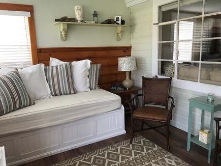 East Falmouth Cape Cod vacation rental - Take an afternoon nap on the enclosed front porch.