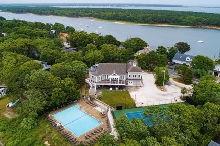 East Falmouth Cape Cod vacation rental - Neighborhood Clubhouse for swimming, tennis & dining