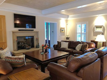 Chatham Cape Cod vacation rental - Another View of Living Area Open to Kitchen