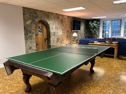 Chatham Cape Cod vacation rental - Lower Level Ping Pong Table