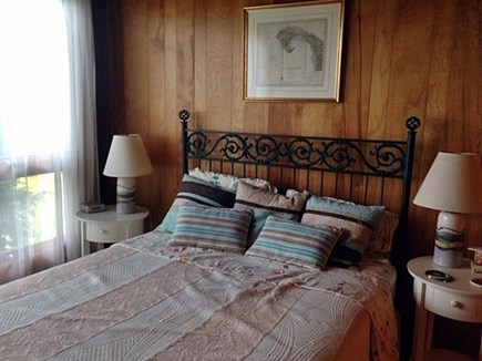 Truro Cape Cod vacation rental - Downstairs bedroom with queen bed