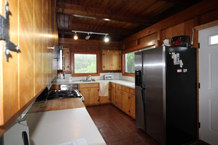 Truro Cape Cod vacation rental - Kitchen looking from Dining