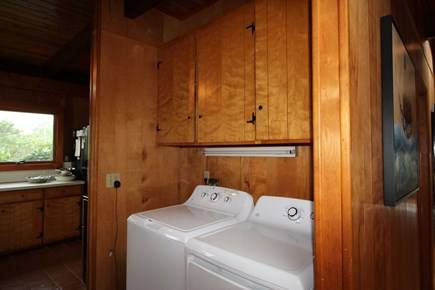 Truro Cape Cod vacation rental - Handy Laundry on the main level of the home