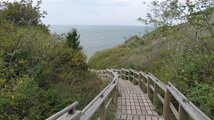 Truro Cape Cod vacation rental - Excellent stairs to the beach