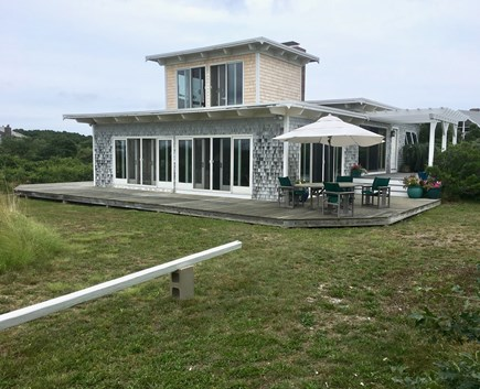 Truro Cape Cod vacation rental - Water side of Home