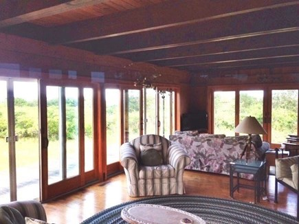 Truro Cape Cod vacation rental - Partial View of Living Room