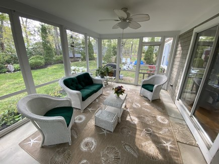 Falmouth Cape Cod vacation rental - Screened in sun porch