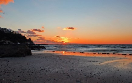 Falmouth Cape Cod vacation rental - Just a short walk to a beautiful sunset at Old Silver Beach