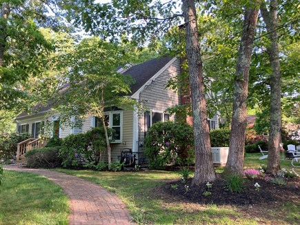Falmouth Cape Cod vacation rental - Easy accessible front door with only 3 steps