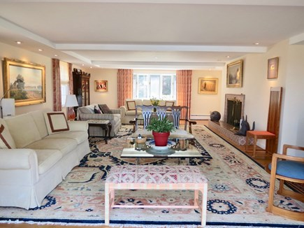 Orleans Cape Cod vacation rental - Big living room with large flat screen TV.