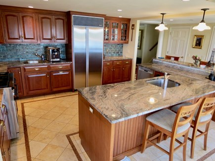 Orleans Cape Cod vacation rental - Spacious kitchen, stainless steel appliances, granite counters